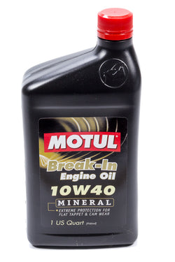 Motul // BREAK-IN OIL 10W40 (MINERAL), Oils, Fluids & Lubricants - ProStreet Motorsports