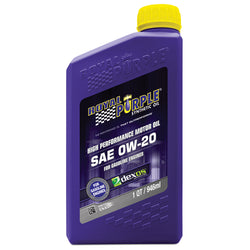 ROYAL PURPLE LTD // Multi-Grade Motor Oil 0W20 SN Bottle, Oils, Fluids & Lubricants - ProStreet Motorsports
