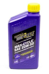 ROYAL PURPLE LTD // Max Cycle 20W50 Qt. Bottle, Oils, Fluids & Lubricants - ProStreet Motorsports