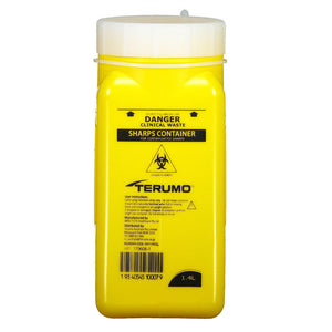 Sharps Container 1.4 Litre Adjustable Length | TCM Supplies NZ