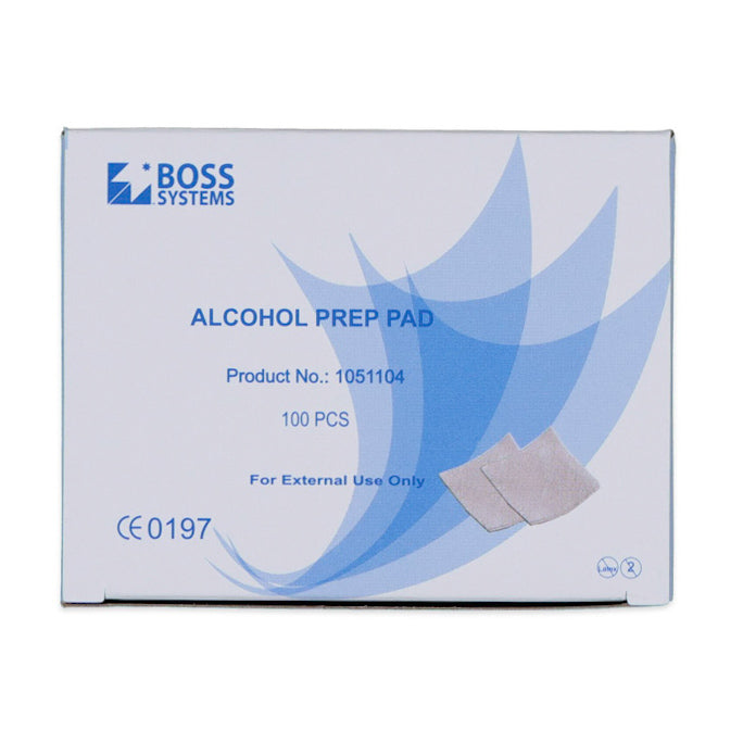 70% Isopropyl Swabs (100) - TCM Supplies NZ