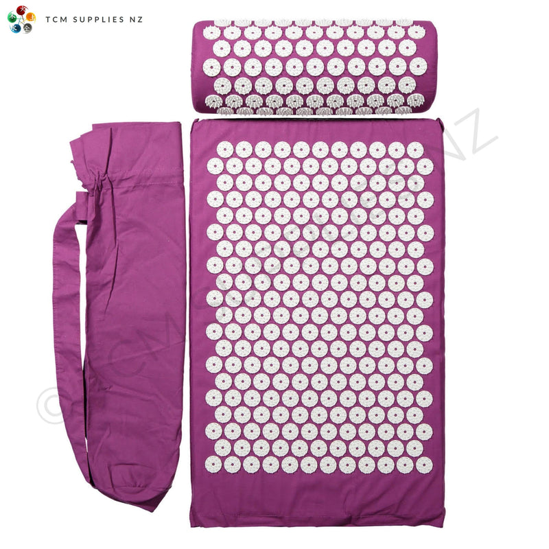 Acupressure Mat, Bag & Pillow | TCM Supplies NZ