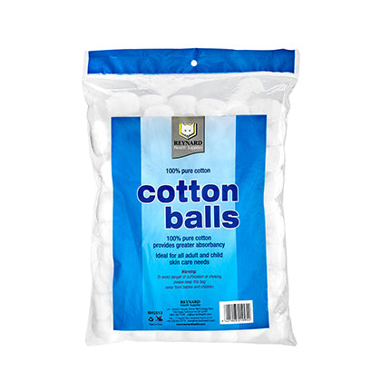 100% Pure Cotton Balls (100 Pcs)