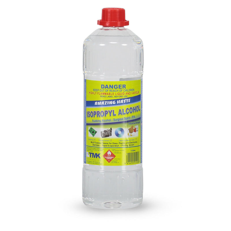 Isopropyl Alcohol 1 Litre - TCM Supplies NZ