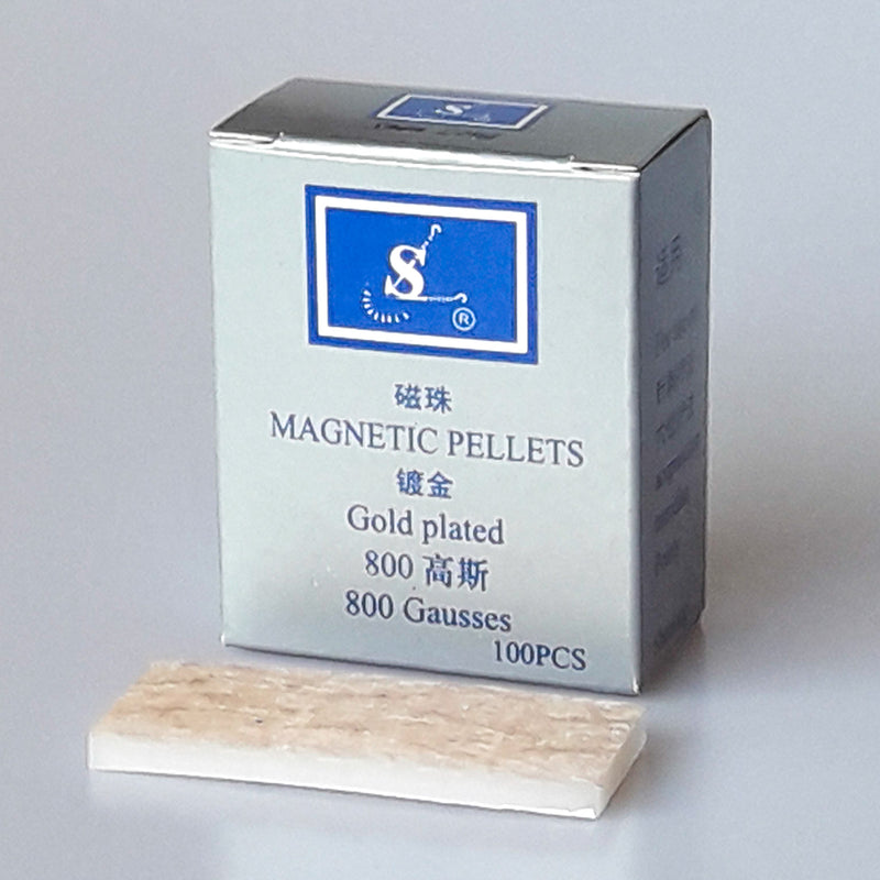 Shen Long Gold Plated Press Pellets (Magnetic)