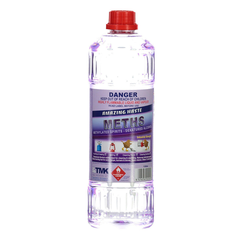 Methylated Spirit (1 Litre) | TCM Supplies NZ