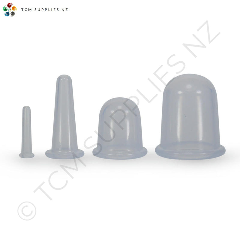 Silicone Cupping Set (Facial & Body Cups)