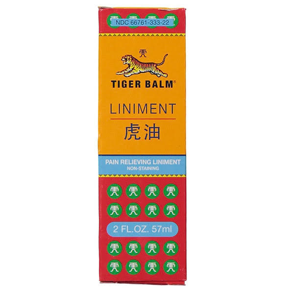 Tiger Balm Non Staining Liniment (57 ml) box | TCM Supplies NZ