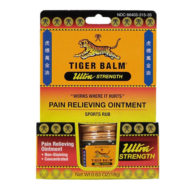 Tiger Balm Ultra Strength - Non Staining Ointment (18g) | TCM Supplies NZTiger Balm Ultra Strength - Non Staining Ointment (18g) box | TCM Supplies NZ