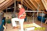VERSA RAIL MODEL 60 ATTIC LADDER SAFETY RAIL