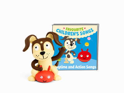 Audio Character For Toniebox: Playtime and Action Songs