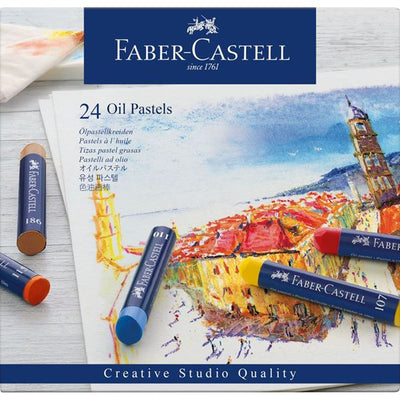 Faber Castell Oil Pastels (24)