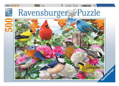 Ravensburger Garden Birds, 500pc Jigsaw Puzzle