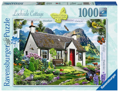 Ravensburger Country Cottage Collection, Lochside Cottage, 1000pc Jigsaw Puzzle