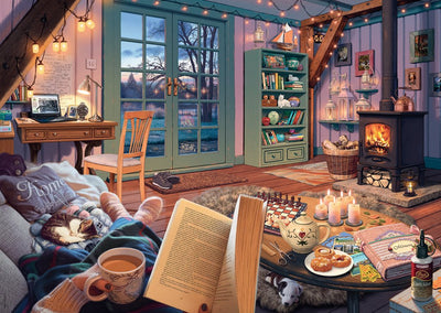 Ravensburger: My Haven No.6, The Cosy Shed, 1000pc Jigsaw Puzzle