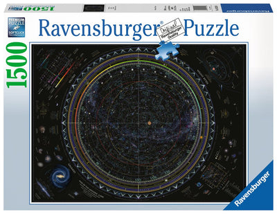 Ravensburger Map of the Universe, 1500pc Jigsaw Puzzle