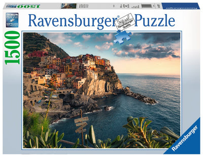 Ravensburger View of Cinque Terre, Italy, 1500pc Jigsaw Puzzle