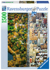 Ravensburger Divided City New York, 1500pc Jigsaw Puzzle