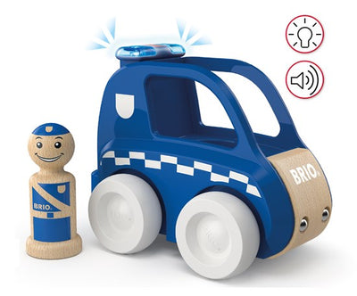BRIO My Home Town: Light & Sound Police Car