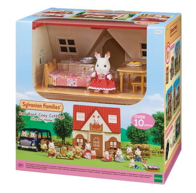Sylvanian Families Red Roof Cosy Cottage Starter Home