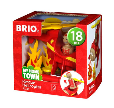 BRIO My Home Town: Rescue Helicopter