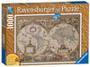 Ravensburger Antique World Map, 1000pc Jigsaw Puzzle