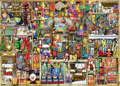 Ravensburger Colin Thompson - The Christmas Cupboard, 1000pcJigsaw Puzzle