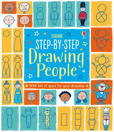 Usborne: Step-by-step drawing people