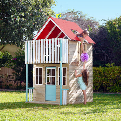 TP Toys Padstow Wooden Playhouse