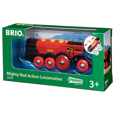 Brio Mighty Red Action Locomotive