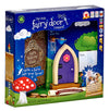 Irish Fairy Door (Purple Arched)