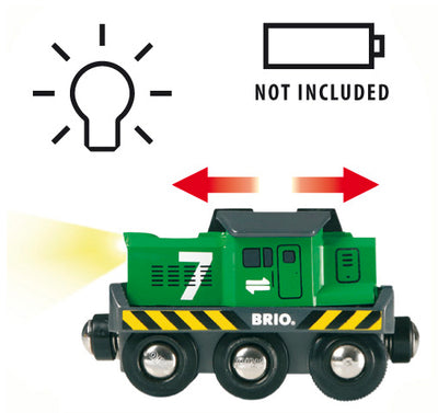 Brio Battery Powered Freight Engine