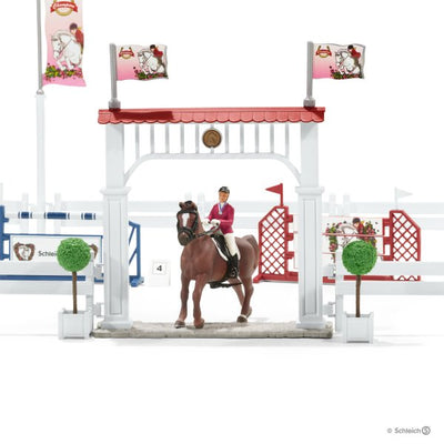 Schleich Big horse show with horses 42338