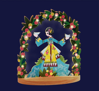 Djeco Wooden Night Light - Mademoiselle Colombes