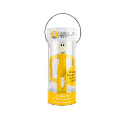 Matchstick Monkey Teething Toy Yellow