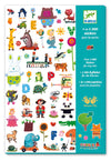 Djeco 1000 Stickers For Tiny Tots