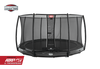 BERG 14FT ELITE INGROUND TRAMPOLINE + SAFETY NET DELUXE