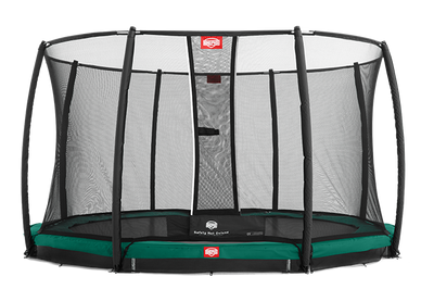 BERG Champion 9ft InGround Trampoline + Deluxe Net