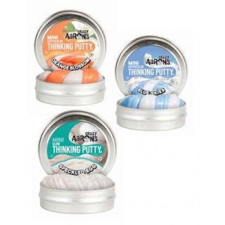 Crazy Aaron's Thinking Putty Mini Tins x 3