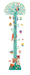 Djeco Wall Stickers: Arbre En Fleurs Height Chart