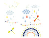 Djeco Wall Stickers: Shapes