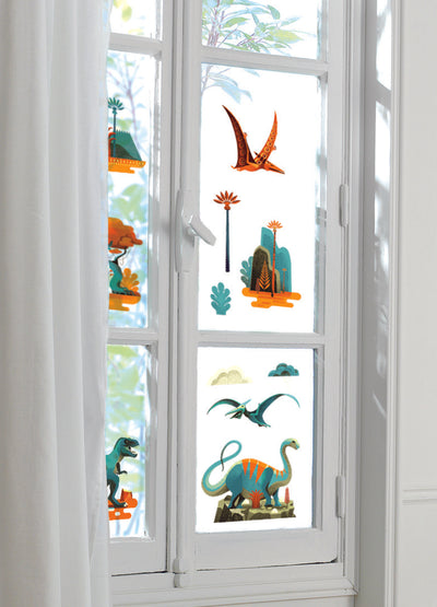 Djeco Window Stickers: Dinosaurs