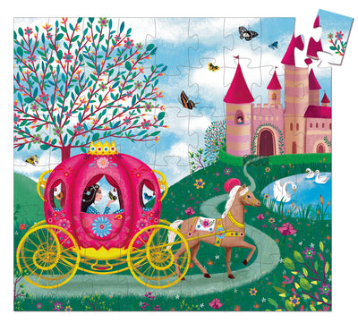 Djeco Silhouette Jigsaw Puzzle: Elise's Carriage