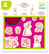 Djeco Princess Stamps (4-8yrs)