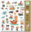 Djeco Stickers: Pirates
