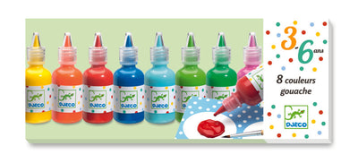 Djeco 8 Colour Paints