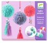 Djeco Beaded Wool Pom Poms (7-13yrs)