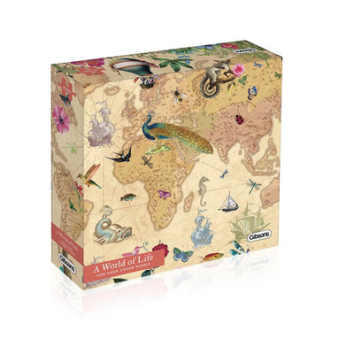 Gibsons WORLD OF LIFE, 1000 PIECE JIGSAW PUZZLE