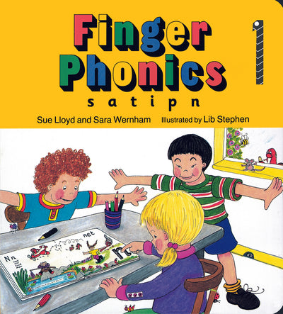 Jolly Learning Finger Phonics Book 1 ONLY