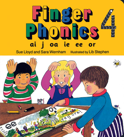 Jolly Learning Finger Phonics Book 4 ONLY